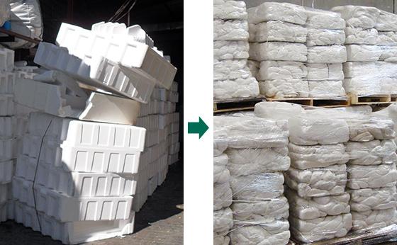 Styrofoam reusing | Styrofoam Densifiers