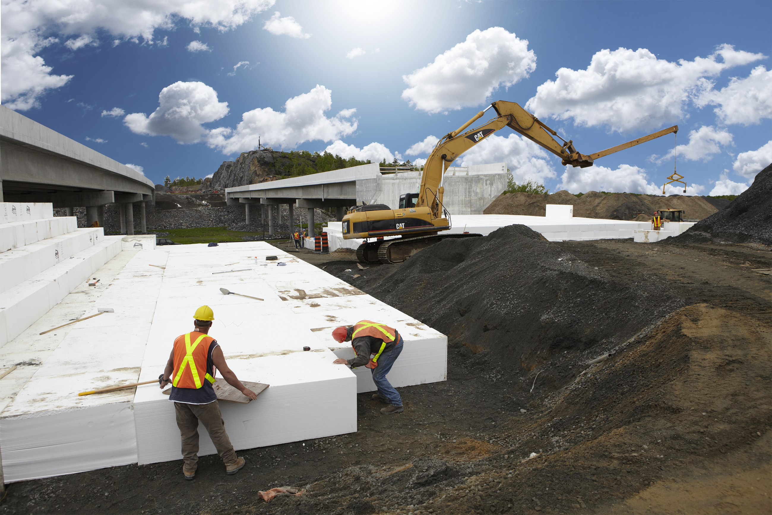 Styrofoam recycling should be promoted rather than for Foam block house construction
