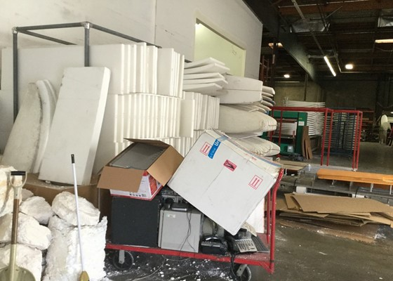 To solve the problem of waste Styrofoam recycling is imminent